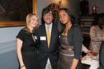 Monica Sherer, Harry Elish and Felecia Webb at Girls Quest 70th Anniversary Gala at the Tennis & Racquet Club