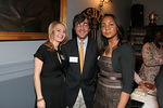Monica Sherer, Harry Elish and Felecia Webb at Girls Quest 70th Anniversary Gala at the Racquet & Tennis Club
