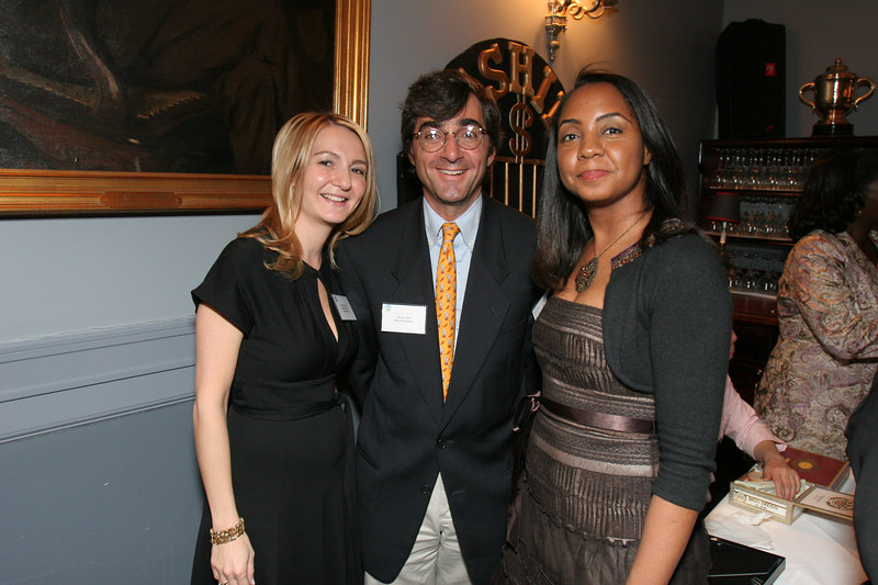 Monica Sherer, Harry Elish and Felecia Webb