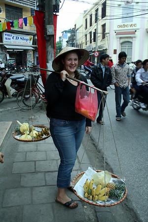 Cils pretends she's Vietnamese
