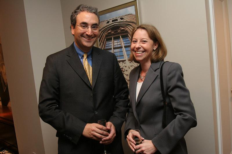 Warren Scharf & Meg Wendy