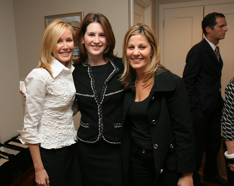 Sharon O'Brien, Danielle Englebardt, and Karen Mansour at Barbizon/63 for Lenox Hill Neighborhood House