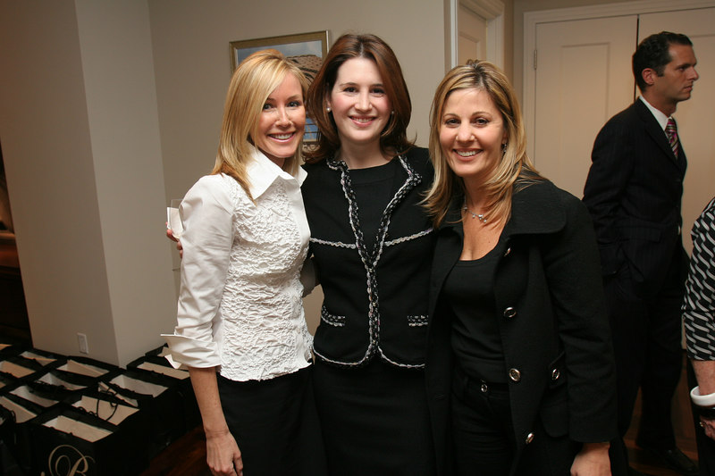 Sharon O'Brien, Danielle Englebardt, and Karen Mansour at<br /> Barbizon/63 for Lenox Hill Neighborhood House