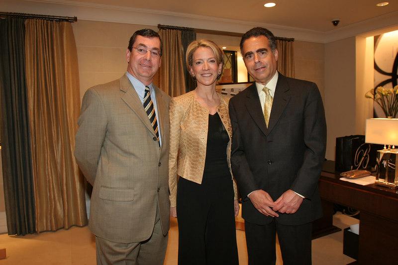 Joseph Nahas, Diana Quasha, and Allen Brill at Barbizon/63<br /> for Lenox Hill Neighborhood House