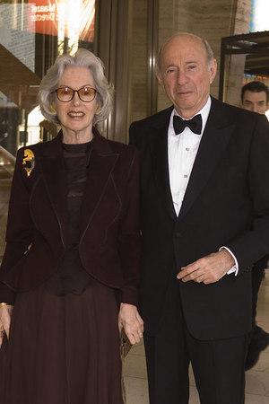Barbara and Donald Tober at the New York Philharmonic Spring Gala,Lights! Camera! Music! on  April 26, 2006<br /> <br /> PHOTO: Julie Skarratt