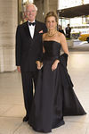 Mr. and Mrs. Alan S. MacDonald arrive at the New York Philharmonic Spring Gala, Lights! Camera! Music!, on April 26, 2006<br /> <br /> PHOTO: Julie Skarratt