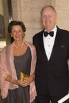 New York Philharmonic Chairman Paul B. Guenther (honoree of the evening) and his wife, Diane Guenther, arrive at the New York Philharmonic Spring Gala, Lights! Camera! Music! on April 26, 2006.<br /> <br /> PHOTO: Julie Skarratt