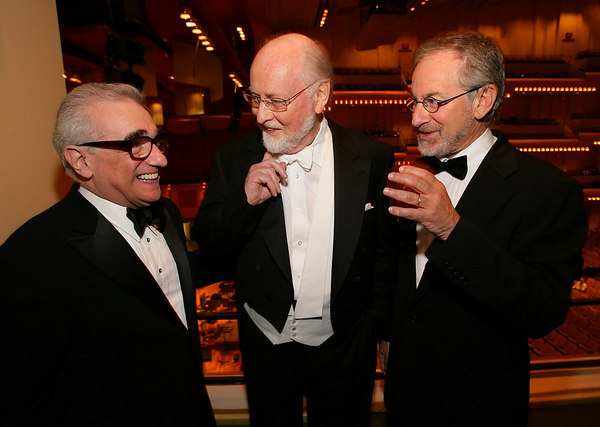 Martin Scorcese, John Williams & Steven Spielberg <br /> <br /> Photo by Chris Lee