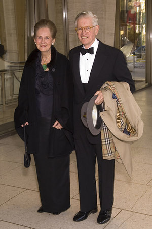 Marjorie and Gurnee F. Hart at the New York Philharmonic Spring Gala, Lights! Camera! Music! on April 26, 2006<br /> <br /> PHOTO: Julie Skarratt