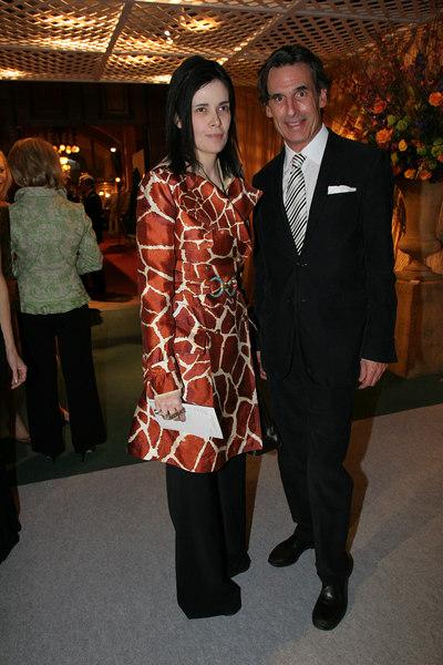 Benedetta Pignatelli and Roy Kean