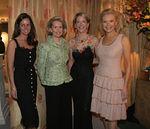Eva Dillon, Sydney Schuman,Diana Quasha, Audrey Gruss