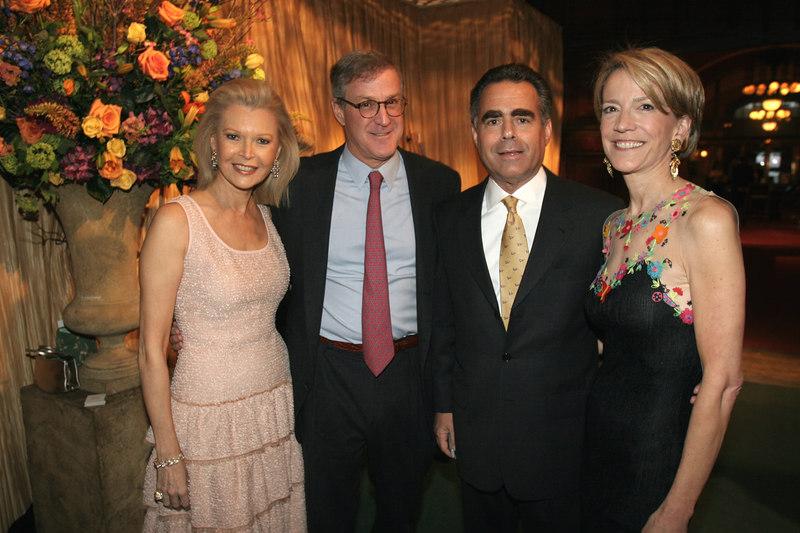 Audrey Gruss, Thomas Edelman, Allen Brill & Diana Quasha