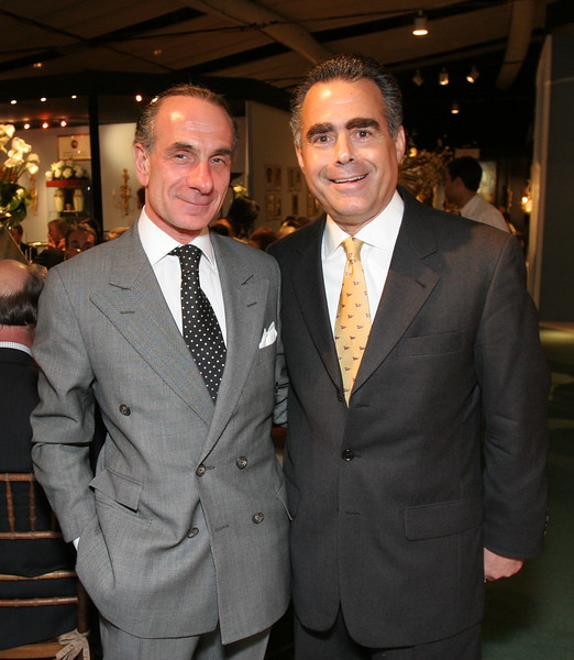 "<a href=""http://www.centralparknyc.org/20861/27023"">Robert Rufino</a> & Allen Brill, President & CEO of Rolex Watch, USA, Inc."
