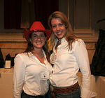 Volunteers Amy Finno & Christina West