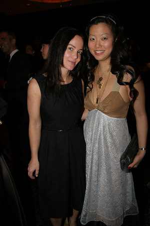(L-R)Tracy Paul & Alice Kim, Accessories Director of In Style