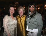 Charlotte Prince (Chair, Board of Directors), Beth Dater (Honoree) & Rochelle Williams (WIN Award Receipient)