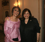 Bonnie Stone (WIN President & CEO)  & Robin White (Director of Development)