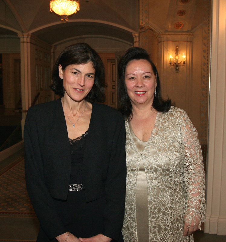 "Katherine (""Kayce"") Freed Jennings & Charlotte Prince (Chair, Board of Directors)"
