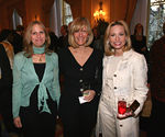 Louise Mirrer (President of the New York Historical Society), Judy Loeb Goldfein & Gillian Miniter