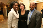"Deborah Roberts, Katherine (""Kayce"") Freed Jennings & Al Roker at <a href=""http://www.women-in-need.org/"">Women in Need's</a> (WIN) 2006 Commit to Win Dinner at the Pierre Hotel"