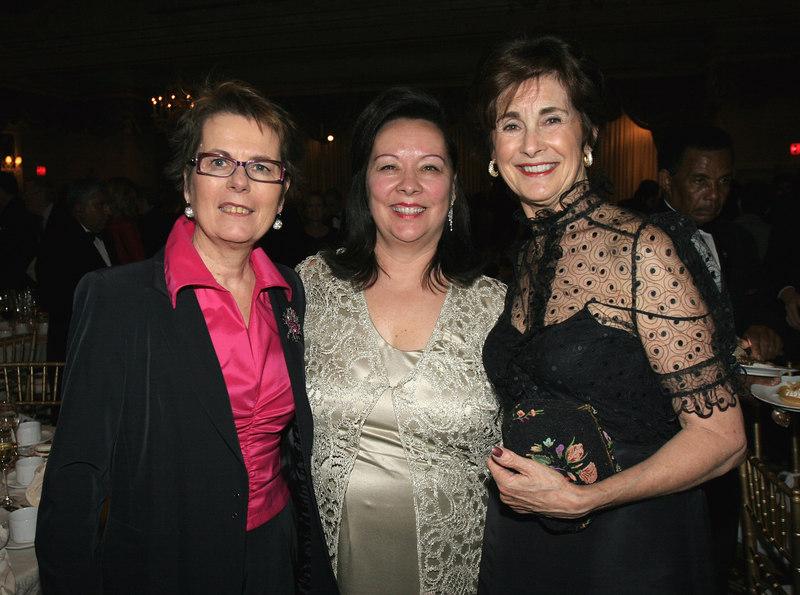 WIN Founder Rita Zimmer, Charlotte Prince (Chair, Board of Directors) & Susan Rudin (Board Member)