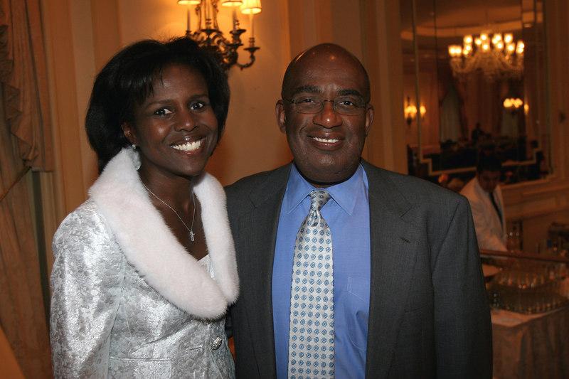 "Deborah Roberts & Al Roker Co-hosts for <a href=""http://www.women-in-need.org/"">Women in Need's</a> (WIN) 2006 Commit to Win Dinner at the Pierre Hotel"