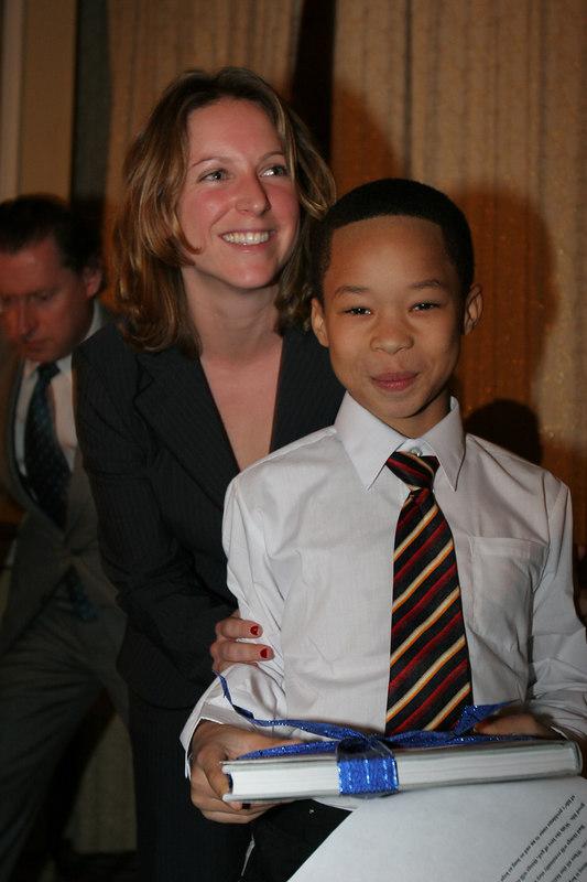 Elizabeth Jennings & WIN Essay Winner Eliot Richardson