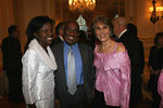 "Deborah Roberts, New York Media Personality Al Roker & Bonnie Stone at <a href=""http://www.women-in-need.org/"">Women in Need's</a> (WIN) 2006 Commit to Win Dinner at the Pierre Hotel"