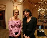 Bonnie Stone (WIN President & CEO)  & Kaycee Jennings (Dinner Co-Chair)