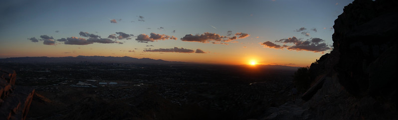 'Death March' Sunset pano