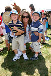 Stephanie Winston Wolkoff and her boys