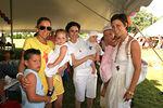 (L-R) Moms: Robin Katz, Darcy Nussbaum & Jenny Symonds with their children