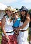 Jackie Harris Hockberg, Dani Palin and Roxanne Palin
