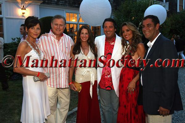 Sheila Rosenblum, Danny Rosenblum, Denis Wohl, Larry Wohl, Carole Rome & Todd Rome