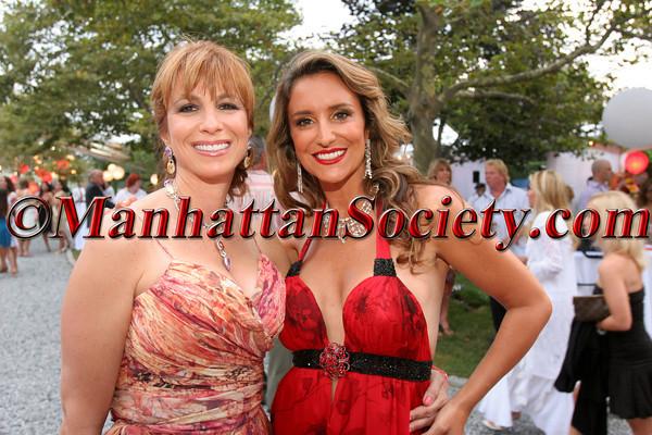 Jill Zarin & Carole Rome