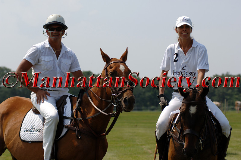 "<a href=""http://www.bloodysocial.com/"">Warrington Gillette</a> getting a POLO lesson from Hennessy Team Captain, Yvonne Morabito"