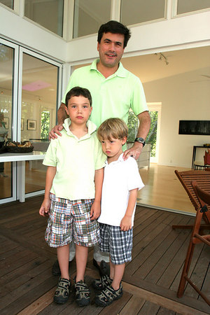 Jeffrey Slonim & his boys