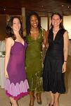 Regan Lynn, Majora Carter & Jennifer Roesner at Guastavino's for the Municipal Art Society: Presentation of the Evangeline Blashfield Award to Majora Carter