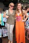 "Alexandra Wilkis & Lara Meiland at BED for  Celebration of SERENE Wear Launch of the ""Cupcake Short"""