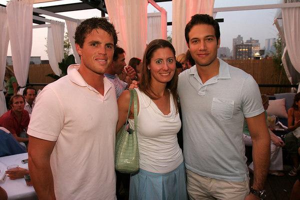 Tom Schneider, Laura Metzger and Eric Villency