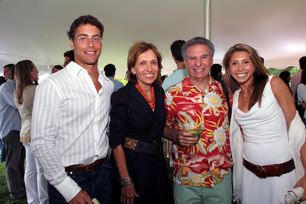 Hosts Jane & Jack Rivkin with Andrew Fleiss and Jen Carter