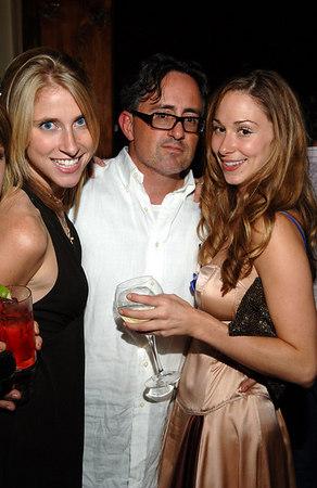 Beauty Editor, Sarah Glover, Christopher London & Fashion Director, Elizabeth Durand