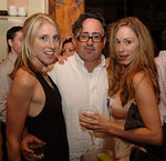 Beauty Editor, Sarah Glover, Christopher London & Fashion Director, Elizabeth Durand