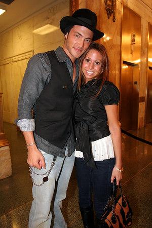 Brandon Trentham and friend
