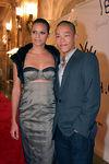 """Model & <a href=""""http://www.olympusfashionweek.com/fall2006/designers/jason_wu/"""">Jason Wu</a>"""