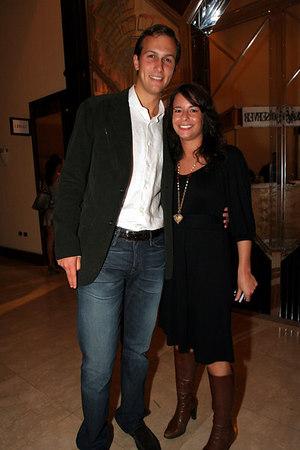 Jared Kushner, Publisher of the New York Observer with Sharon Mandler