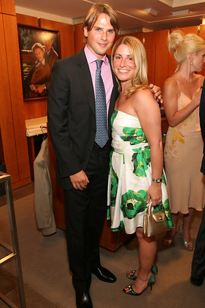 """Brian & Donna Johnson at Brooks Brothers for Cocktails for <a href=""""http://www.newyorkphilharmonic.org/support/yny/index.cfm?page=home"""">Young New Yorkers for the Philharmonic</a>: """"Summer Party."""""""