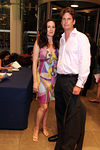 "Norah Lawlor & Andrew Flach at Brooks Brothers for Cocktails for <a href=""http://www.newyorkphilharmonic.org/support/yny/index.cfm?page=home"">Young New Yorkers for the Philharmonic</a>: ""Summer Party."""