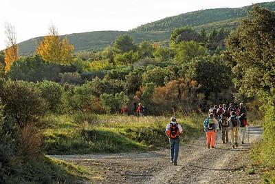 Aureille - Mas de Conse Retour vers le village