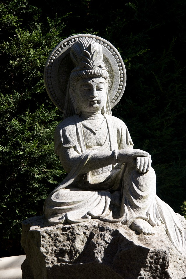 Statue • A statue at the Nan Tien Temple south of Sydney.